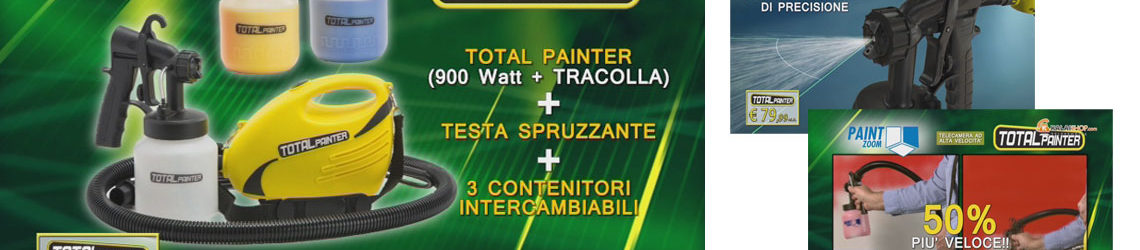 total painter visto in tv